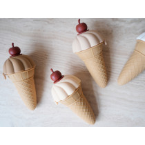 Konges Slojd 4 Silicone Ice Cream Moulds