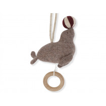 Konges Slojd Hanging Musical Toy CIRCUS SEA LION