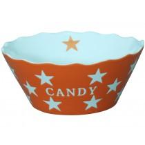 Krasilnikoff Happy Stars Candy Bowl orange