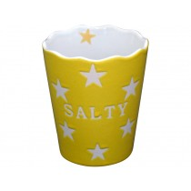 Krasilnikoff Happy Stars Salty cup yellow