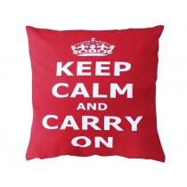 Krasilnikoff cushion cover Keep calm