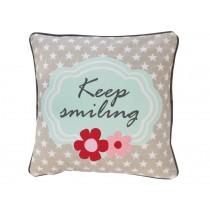 Krasilnikoff cushion cover Keep smiling