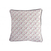 Krasilnikoff cushion cover white with romantic flowers