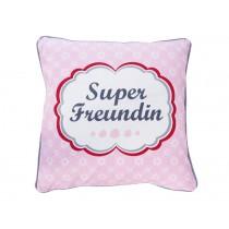 Krasilnikoff cushion cover Super Freundin