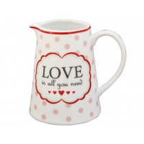 Krasilnikoff creamer Love is all you need