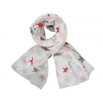 Krasilnikoff scarf stars multicolour