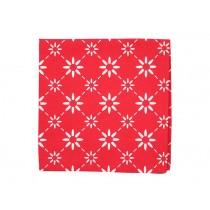 Krasilnikoff napkin diagonal red