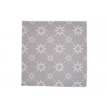 Krasilnikoff napkin diagonal taupe