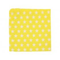 Krasilnikoff napkin stars yellow