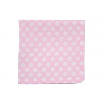 Krasilnikoff napkin retro flower pink