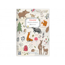 krima & isa Cut Out Book FOREST ANMALS