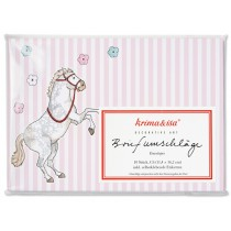 krima & isa envelope set PONY