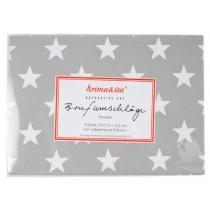 krima & isa envelope set stars grey