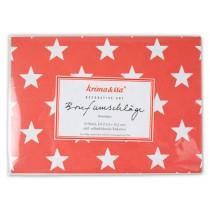 krima & isa envelope set stars red