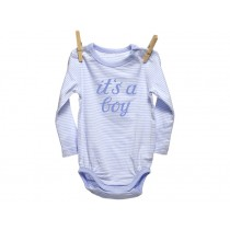 "Iron-on patch ""It's a boy"" by krima & isa"