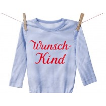 "Iron-on patch ""Wunschkind"" by krima & isa"