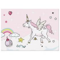 krima & isa postcard Unicorn
