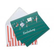 krima & isa postcard set school