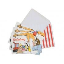 krima & isa postcard set children's party