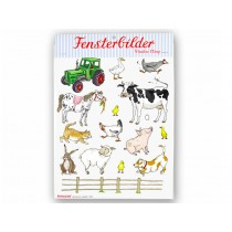 Farm window sticker by krima & isa