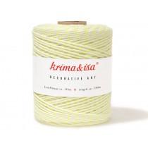 krima & isa yarn neon yellow