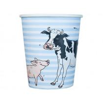 krima & isa paper cups farm