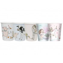 krima & isa paper cups motifs