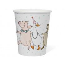 krima & isa paper cups animal parade
