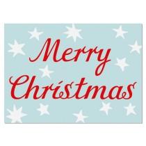 krima & isa postcard Merry Christmas