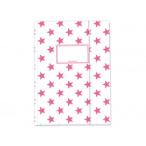 krima & isa folder map white pink stars