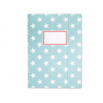 krima & isa folder map stars turquoise
