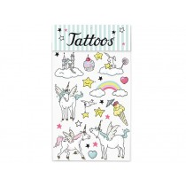 krima & isa tattoos unicorn