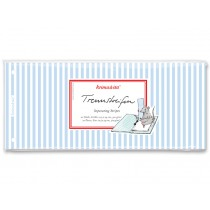 krima & isa separator card striped blue