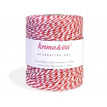 Red yarn by krima & isa