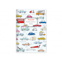 krima & isa Cut Out Book CARS