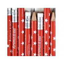 krima & isa Pencil RED STARS