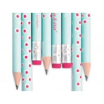 krima & isa Pencil TURQUOISE SPOTS