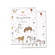 krima & isa Writing Pad PONY