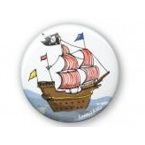 krima & isa Button PIRATE SHIP