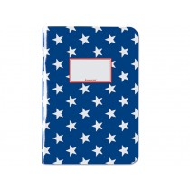 krima & isa Notebook A4 STARS blue