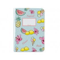 krima & isa Notebook A4 TROPICAL