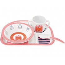 Lässig melamine tableware set Little Monsters MAD MABEL