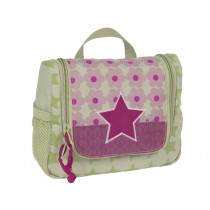 Mini wash bag with star for girls by Lässig