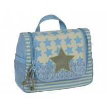 Mini wash bag with star for boys by Lässig