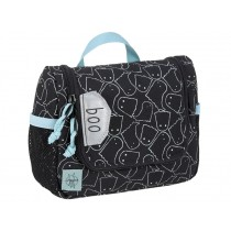 Lässig Mini wash bag SPOOKY black