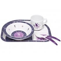 Lässig melamine tableware set Deer viola