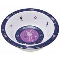 Lässig melamine bowl Deer viola