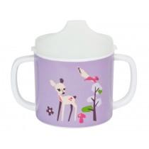 Lässig melamine baby spout cup Fawn