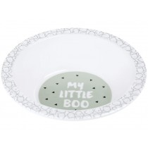 Lässig Melamine bowl LITTLE SPOOKIES olive