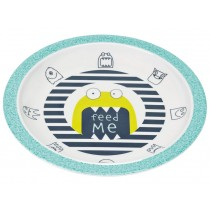Lässig Melamine plate Little Monsters BOUNCING BOB